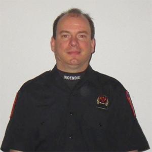 Pompier caserne 32 Daniel Girard